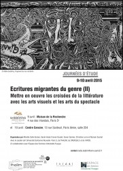 Affiche_Ecritures_migrantes_du_genre_II