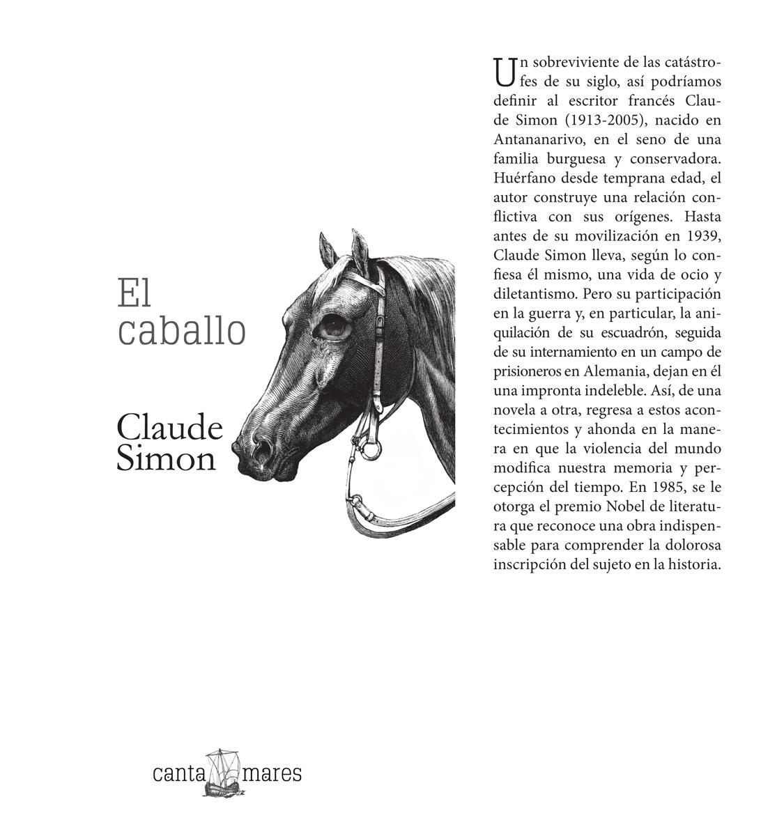 El Caballo - Claude Simon - Couverture